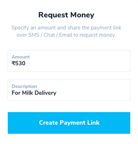 Collect payments instantly with Paytm Payment Links Request