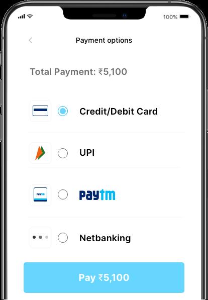 UPI app Screen