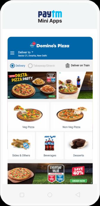 Mini App Easy section