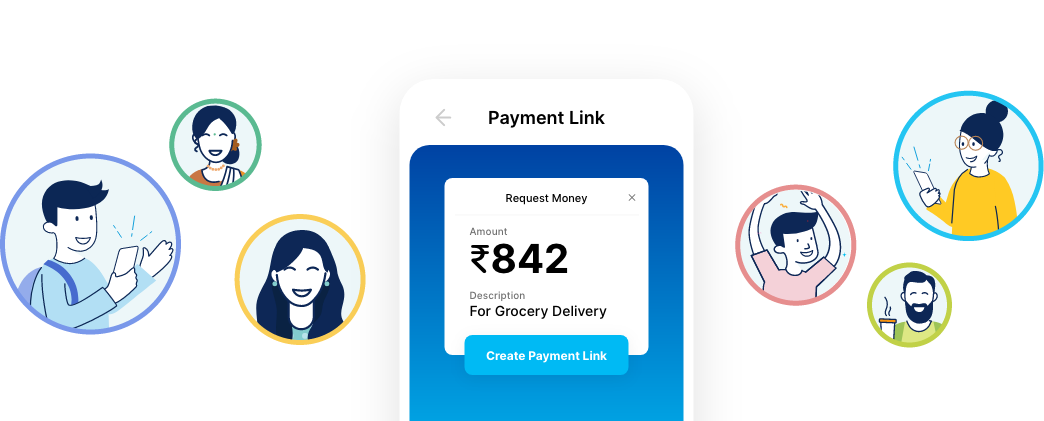 Payment link banner